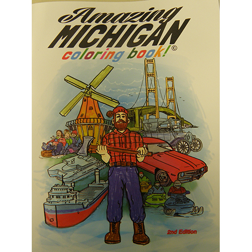 Amazing Michigan Coloring Book 2nd edition – River of History Museum ...